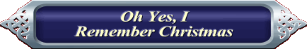Oh Yes, I Remenber Christmas Banner PNG